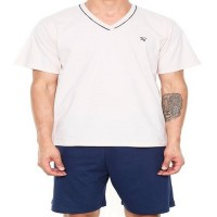 Pijama Masculino Curto 100% Algodão Pzama- 6012.172